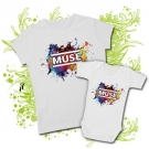CAMISETA MAMA MUSE IV + BODY MUSE BWMC