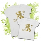 CAMISETA MAMA HEAR ME ROAR IV + CAMISETA HEAR ME ROAR WMC