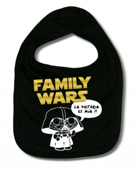 Babero FAMILY WARS B.