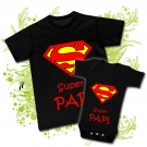 CAMISETA SUPER PAPI V + BODY SUPER PAPI BBMC