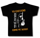 Camiseta YO ESCUCHO THE BOSS COMO MI MAMI BMC