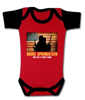 Body bebé THE BRUCE SPRINGSTEEN & THE E-STREET NEW RMC