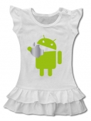 VESTIDO ANDROID VS APPLE