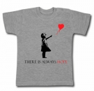 Camiseta BANKSY THERE IS ALWAYS HOPE GMC