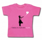 Camiseta BANKSY THERE IS ALWAYS HOPE CHMC