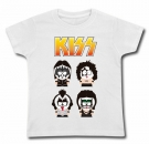 Camiseta KISS MUÑECOS SOUTH PARK WMC