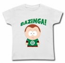 Camiseta BANZINGA Big Bang Theory WMC