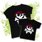 CAMISETA MAMA JOLLY ROGER RING + CAMISETA NIÑOS JOLLY ROGER BMC