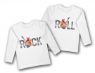 Camisetas ROCK & ROLL TWINS GUITARRA WL