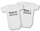Bodys gemelos ROCK & ROLL BABIES TWINS WC