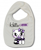 Babero HELLO KITTY GOTHIC W.