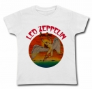 Camiseta LED ZEPPELIN RAINBOW WMC