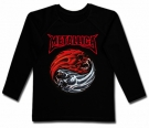 Camiseta METALLICA Flaming Skulls BML