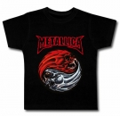 Camiseta METALLICA (Flaming Skulls) BMC