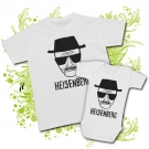 Camiseta PAPA BREAKING BAD (Heisenberg) + Body BREAKING BAD (Heisenberg