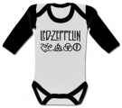 Body bebé LED ZEPPELIN NEW WWL