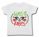 Camiseta GUNS AND ROSES PINCELES WC