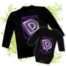 Camiseta PAPA DEEP PURPLE (Somoke on The Water) + Body DEEP PURPLE BL