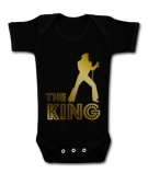 Body bebé ELVIS THE KING GOLD BC