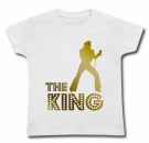 Camiseta ELVIS THE KING GOLD WC
