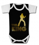 Body bebé ElVIS THE KING GOLD BBC