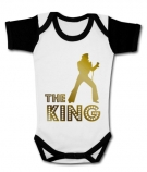 Body bebé ElVIS THE KING GOLD WWC