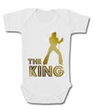 Body bebé ElVIS THE KING GOLD WC