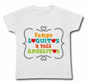 Camiseta TENGO LOQUITOS A MIS ABUELITOS WC