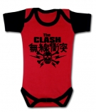 Body bebé THE CLASH JAPAN SKULL RC
