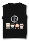 Camiseta sin mangas u2 SOUTH PARK BAND TB.