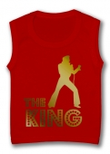 Camiseta sin magas THE KING TR.