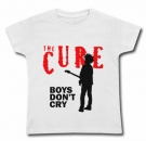 Camiseta THE CURE BOYS DON´T CRY WC