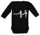 Body bebé PULP FICTION BANANA BANKSY BL