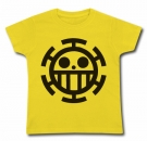 Camiseta Jolly Roger (Law Trafalgar) AMC