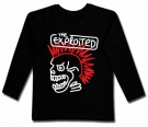 Camiseta THE EXPLOITED PAINT BL