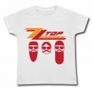 Camiseta ZZ TOP BAND WC
