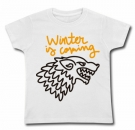Camiseta WINTER IS COMING PAINT WC