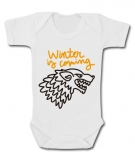 Body bebé WINTER IS COMING PAINT WC