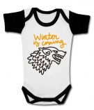 Body bebé WINTER IS COMING PAINT WWC