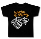 Camiseta WINTER IS COMING PAINT BC