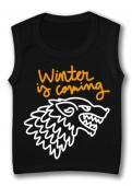 Camiseta sin mangas WINTER IS COMING PAINT TB.