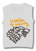 Camiseta sin mangas WINTER IS COMING PAINT TW.