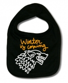 Babero WINTER IS COMING PINCELES B.