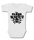 Body bebé THE CLASH JAPAN SKULL WC