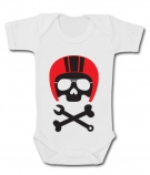 Body bebé BIKER SKULL WC