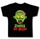 Camiseta ZOMBIES EAT BRAINS BC
