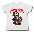 Camiseta METALLICA HEART EXPLOSIVE WC