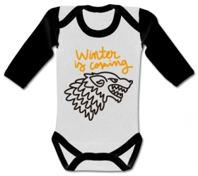 Body bebé WINTER IS COMING PAINT WWL