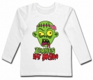 Camiseta ZOMBIES EAT BRAINS WL