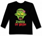 Camiseta ZOMBIES EAT BRAINS BL